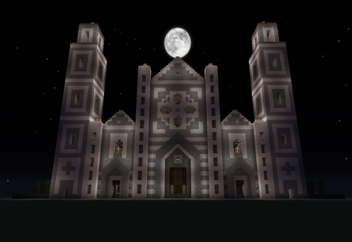 Old Project Italian Gothic Church