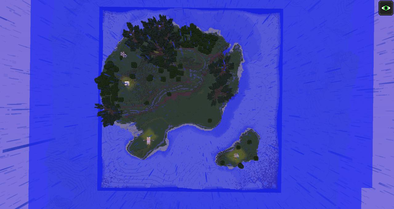 Survival Island adventure map Minecraft Project