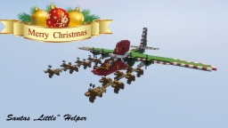 "MERRY CHRISTMAS -  C-130 ""SANTAS LITTLE HELPER"" 1,5:1 Minecraft Map & Project"