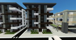 Modern Apartment Minecraft Map & Project
