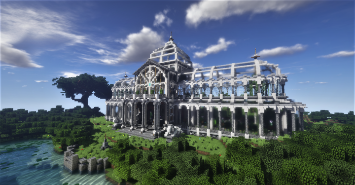 Astonishing Royal Victorian Greenhouse Minecraft Project Home Remodeling Inspirations Basidirectenergyitoicom