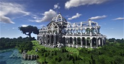 Royal Victorian Greenhouse Minecraft Map & Project