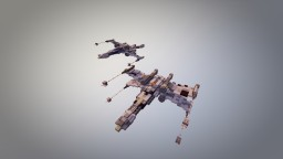 T65 and T70 X-Wings Minecraft Project