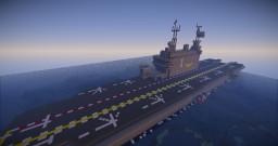 USS Tarawa (LHA-1) Minecraft Map & Project
