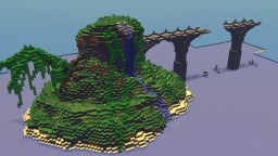 Tropical Island | Two Hour Challenge Minecraft Project