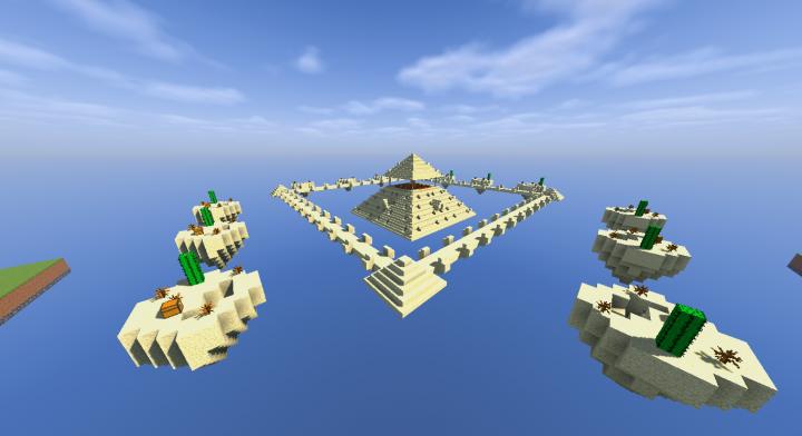 Minecraft Egypt Map.Minecraft Skywars Map Ancient Egypt 100 Complete Minecraft Project