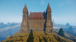 Medival Church/ Castle Minecraft Map & Project