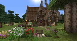 Wooden-Survival-House on Craftolution Minecraft Project