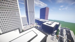 World Trade Center Plaza & 7 WTC [Complex] Minecraft