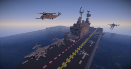 Sea Stallion, Chinook, Osprey and Harrier Minecraft Project
