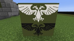 [Warhammer 40000] Aquila logo for item frame Minecraft Map & Project