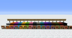 Color-coded slabs (1.13 snapshots) Minecraft Texture Pack
