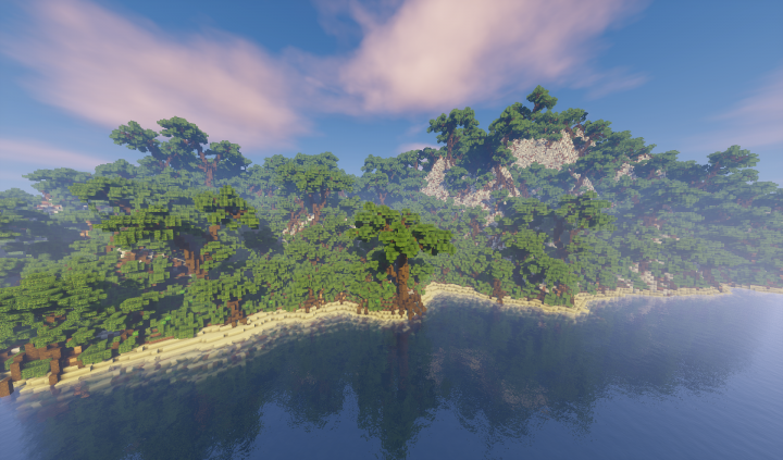 Best cliff minecraft maps projects planet minecraft jungle islands minecraft project sciox Image collections