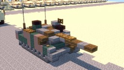 JSDF Type 10 Hitomaru Main Battle Tank Minecraft Project