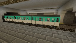 Paris Métro Skin for traincraft Minecraft Mod