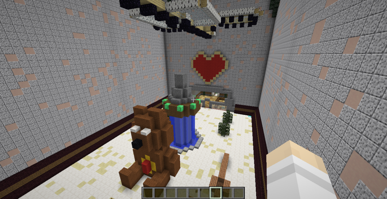 Valentine S Day Hunger Games Map Finished For Minecraft