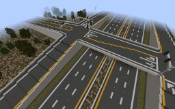 Rural Diamond Interchange | Rainos Minecraft Map & Project