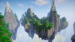 Floating Islands Survival - 1000x1000 Survival Map | 200+ Downloads !!! Minecraft Map & Project