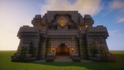 Small Medieval Stronghold Minecraft