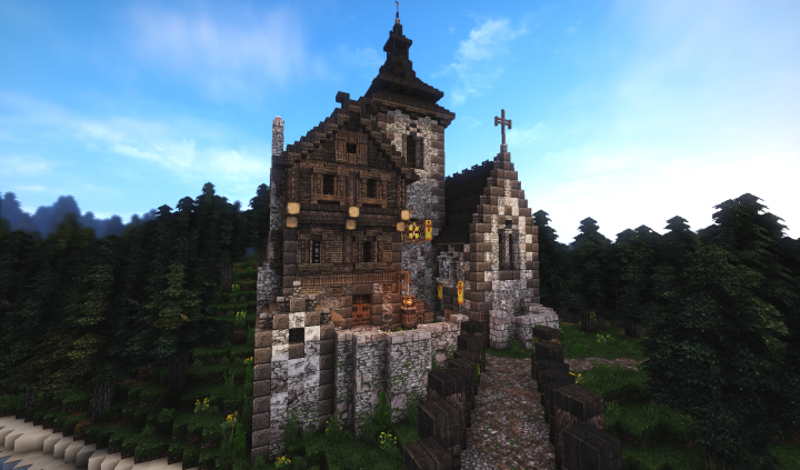Small Monastery inspired by Minecrafttalsi