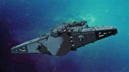 Aimeryk-class artillery cruiser Minecraft Map & Project
