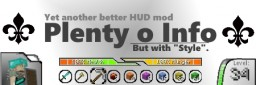 Better HUD 'Plenty o Info' Mod Minecraft Mod