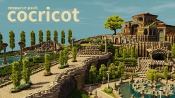 Villa and Gardens Minecraft