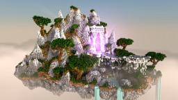 Mystical Floating Island (Hub) Minecraft Project
