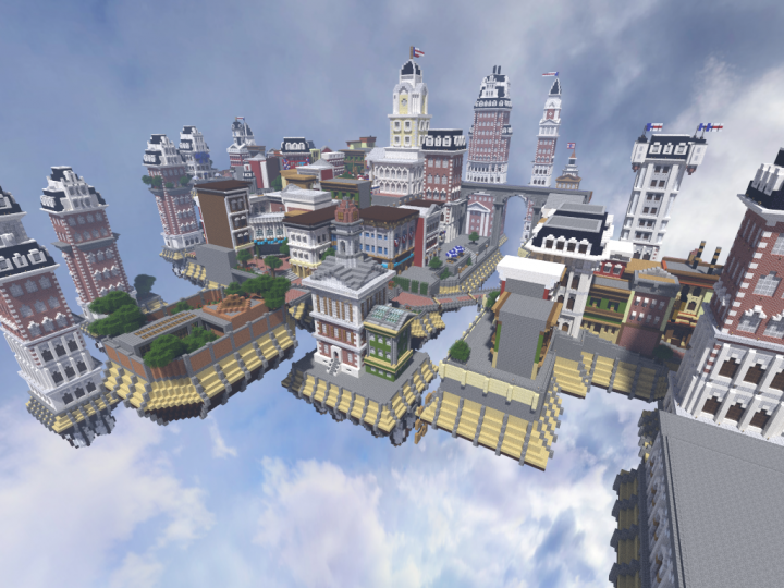 ~Columbia~ from Bioshock Infinite Minecraft Project | 720 x 540 png 536kB