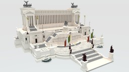 Vittoriano Minecraft Map & Project