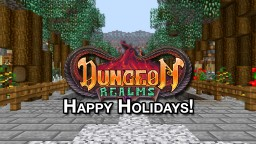Minecraft Dungeon Realms E03 | Merry Christmas, Happy Holidays Minecraft Blog Post