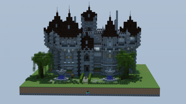 Victorian Gothic Mansion By F7ip And Diamondig