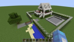 Redstone house Minecraft Map & Project