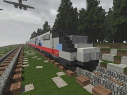 Acela Express Train Minecraft Map & Project