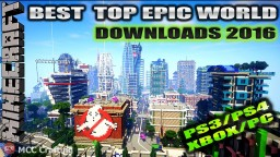 MCC Crafting Top World Downloads 2016 Minecraft Map & Project