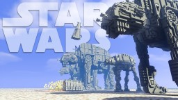 The Last Jedi - The Battle of Crait Minecraft Map & Project