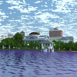 BEFORE DISNEY: Orlando, Florida in 1941 Minecraft
