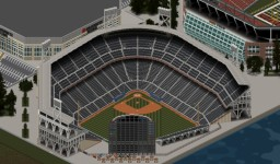 Newpolian Memorial Stadium (Baseball) Minecraft Map & Project