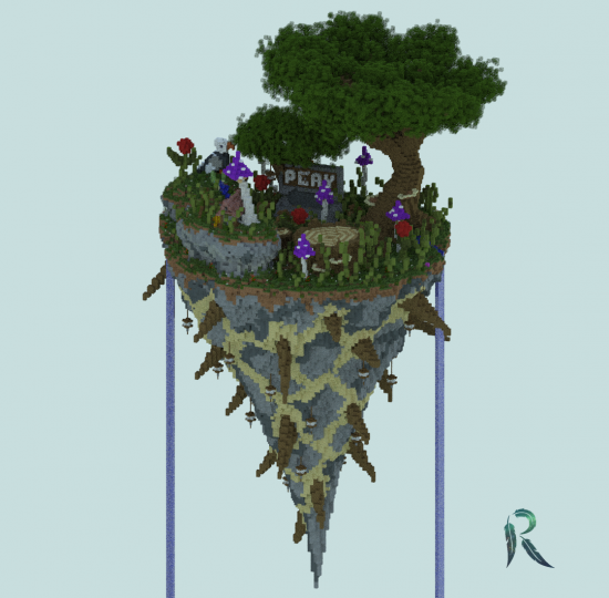 Spawn/Lobby - The Roots (With 3D Model) Minecraft Project