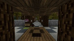 Tropical hub Minecraft Project