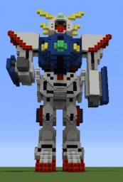 GF13-017NJ Shining Gundam Minecraft Map & Project
