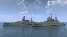 Fictional British Battleship - HMS Restoration - For Helix_area51 Minecraft