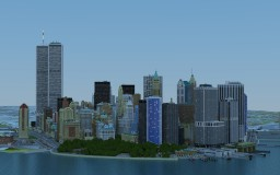 Manhattan in Minecraft- Lower Manhattan (DOWNLOAD & VIDEO) Minecraft