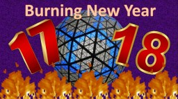 Burning New Year (1.12.2 Burning Map) Minecraft Project
