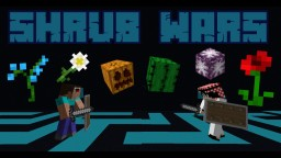 Shrub Wars • 2-Player Strategy PVP Minecraft Map & Project