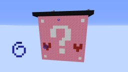Burning Heart Lucky Block Map! Minecraft Project