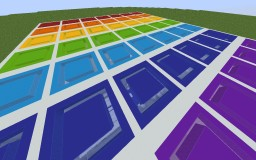 Best rainbow minecraft maps projects with downloadable schematic rainbow 49 parkour map by rbgdiamond minecraft project publicscrutiny Image collections