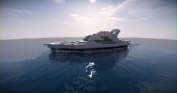 Small Modern Yacht Minecraft Project