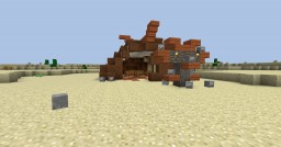 Marauders Tent | Simple Orcish tent made from a rib cage. Minecraft Map & Project