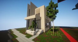 Another Modern Townhouse Minecraft Map & Project